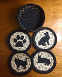 Braided Coasters (Cat Lover)