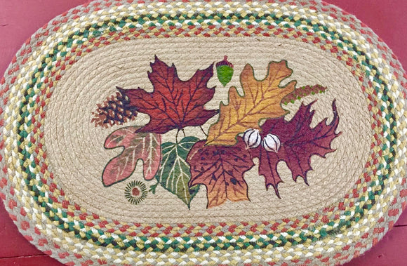 Autumn Leaves Rug - Country Cottage Gifts