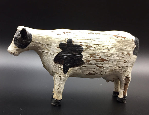 Resin Cow Sculpture - Country Cottage Gifts