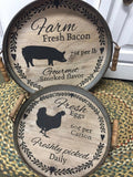 Tin Trivet Set - Country Cottage Gifts