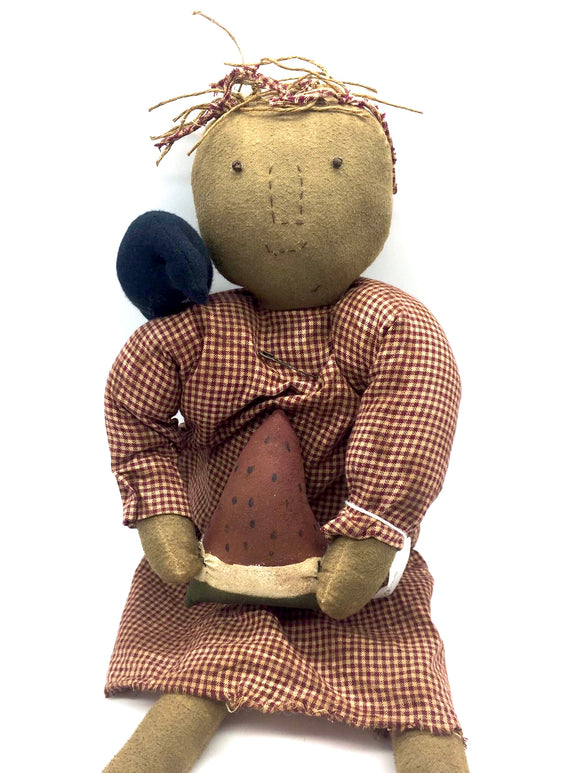 Hattie Rag Doll - Country Cottage Gifts