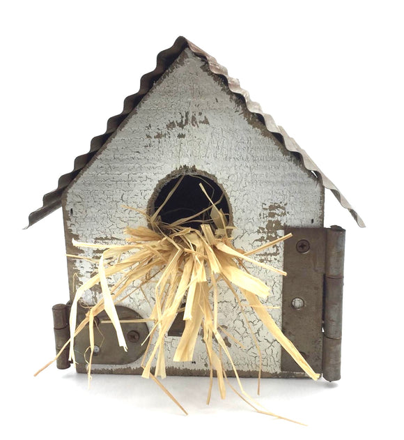Shabby Chic Birdhouse (small) - Country Cottage Gifts