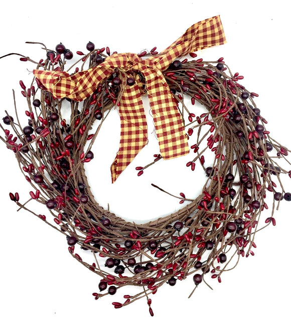 Winterberry Wreath - Country Cottage Gifts