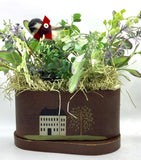 Chickadee Floral Arrangement - Country Cottage Gifts
