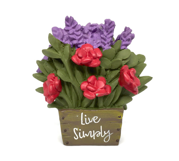 Live Simply Bouquet - Country Cottage Gifts