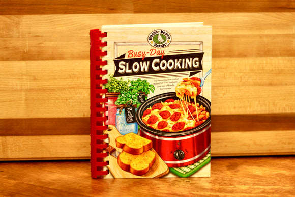 Busy-Day Slow Cooking- Gooseberry Patch - Country Cottage Gifts