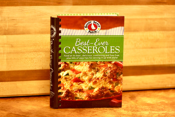 Best-Ever Casseroles by Gooseberry Patch - Country Cottage Gifts