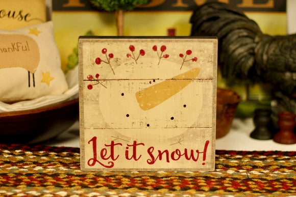 Let It Snow! Sign - Country Cottage Gifts