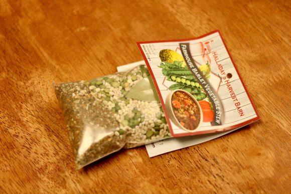 Halladay's Harvest Barn ~ Farmhouse Barley Vegetable Stew - Country Cottage Gifts