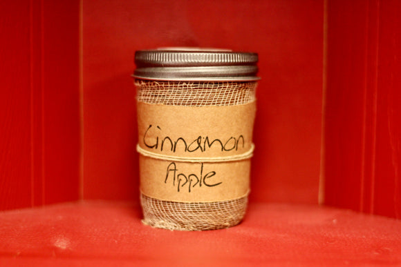 Cinnamon Apple Candle- Black Crow Candles - Country Cottage Gifts