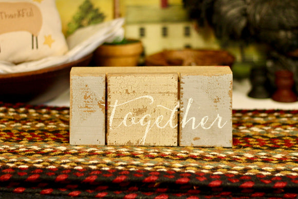 Together Sign - Country Cottage Gifts