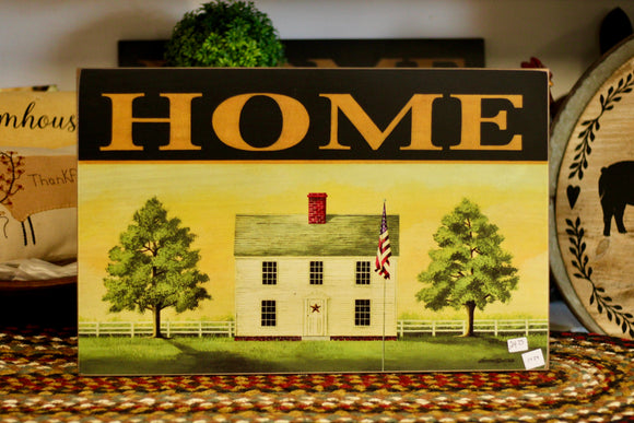 Home House Sign - Country Cottage Gifts