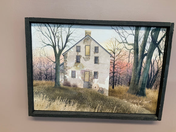 Old Mill at Sunset - Country Cottage Gifts