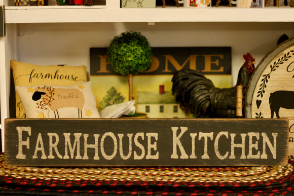 Farmhouse Kitchen Sign - Country Cottage Gifts