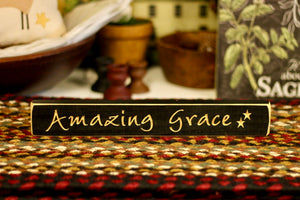 Amazing Grace Sign - Country Cottage Gifts