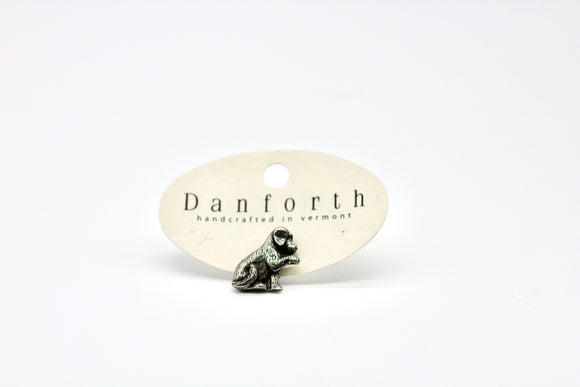 Danforth  Pewter Molly Puppy Scatter Pin - Country Cottage Gifts