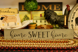 Home Sweet Home Sign - Country Cottage Gifts