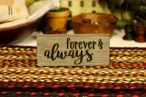 Forever & Always Sign - Country Cottage Gifts