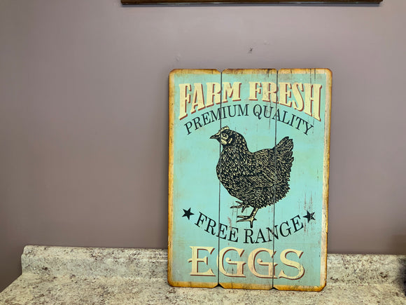 Free range eggs - Country Cottage Gifts
