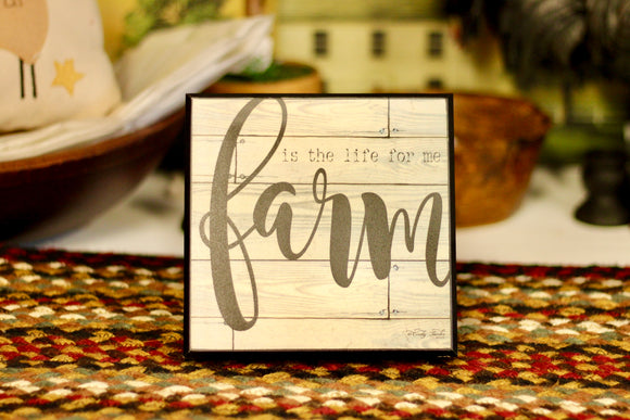 Farm Is The Life Sign - Country Cottage Gifts