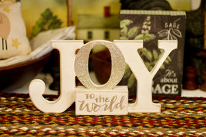 Joy To The World Sign - Country Cottage Gifts