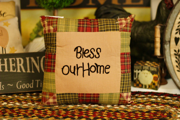 Bless Our Home Pillow - Country Cottage Gifts
