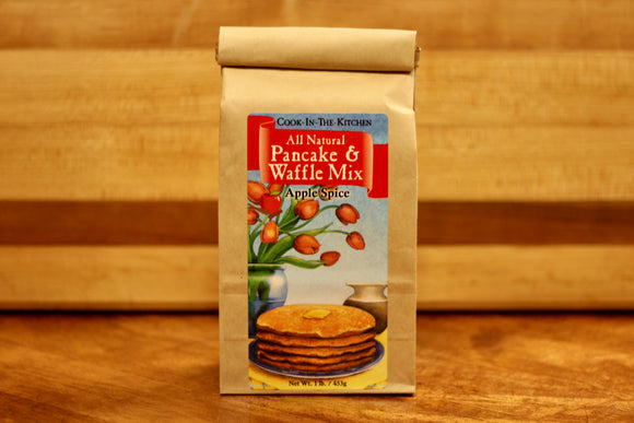 Apple Spice Pancake & Waffle Mix- 1lb - Country Cottage Gifts