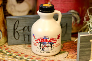 Pure Vermont Maple Syrup ~ 1 Pint - Country Cottage Gifts