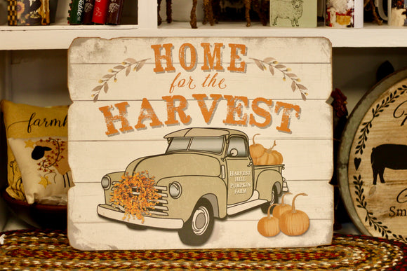 Home For The Harvest Sign - Country Cottage Gifts