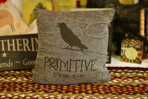 Primitive Pillow - Country Cottage Gifts
