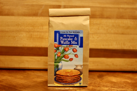 True Blueberry Pancake & Waffle Mix - Country Cottage Gifts