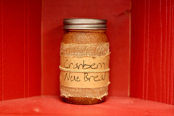Cranberry Nut Bread Candle - Country Cottage Gifts
