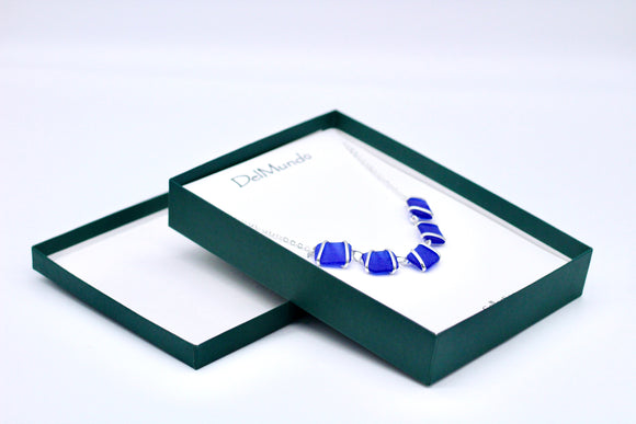 DelMundo Blue Necklace - Country Cottage Gifts