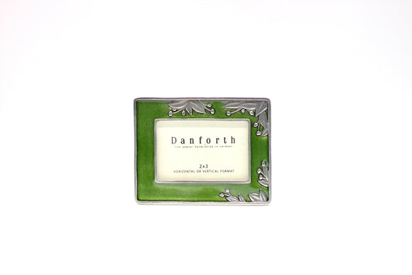 Danforth Pewter Green 2x3 Frame - Country Cottage Gifts