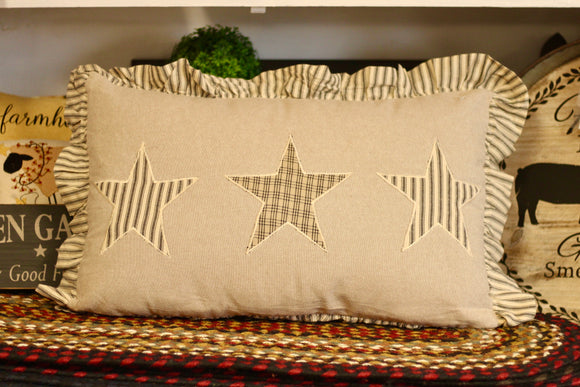 Sawyer Mill Star Pillow - Country Cottage Gifts