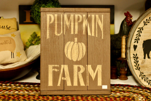 Pumpkin Farm Sign - Country Cottage Gifts