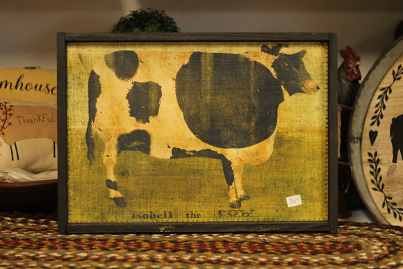 Isobell The Cow Print - Country Cottage Gifts