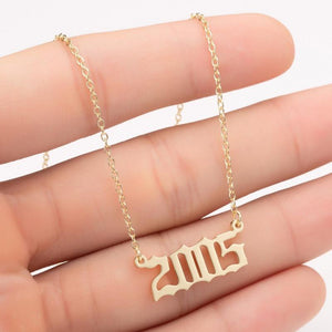 The Year Necklace Collection - Lota & Chain