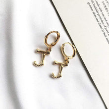Load image into Gallery viewer, The Alphabet Earrings - Lota & Chain