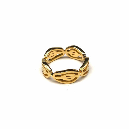 The Persea Americana Ring - Lota & Chain