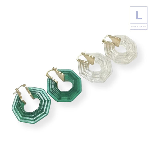 The Deco Earrings - Lota & Chain