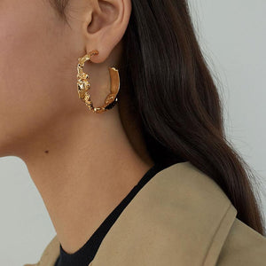 The Lantana Earrings - Lota & Chain
