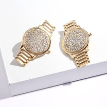 Load image into Gallery viewer, The Lux Lass Watch Earrings - Lota & Chain