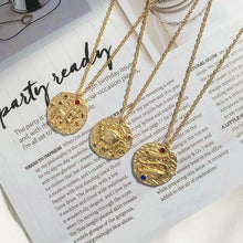 Load image into Gallery viewer, The Zodiac Necklace Collection - Lota & Chain