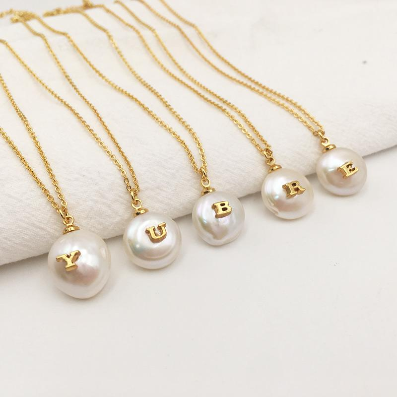 The Alphabet Necklace - Lota & Chain