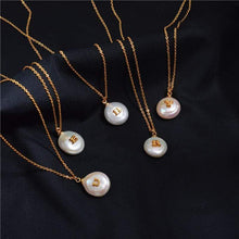 Load image into Gallery viewer, The Alphabet Necklace - Lota & Chain