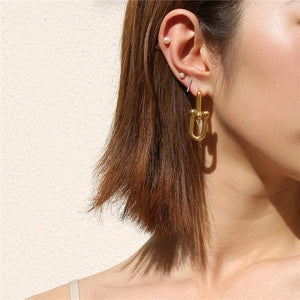 The Chain Link Earrings - Lota & Chain