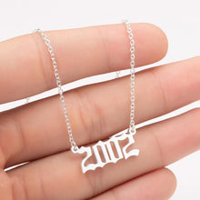 Load image into Gallery viewer, The Year Necklace Collection - Lota & Chain