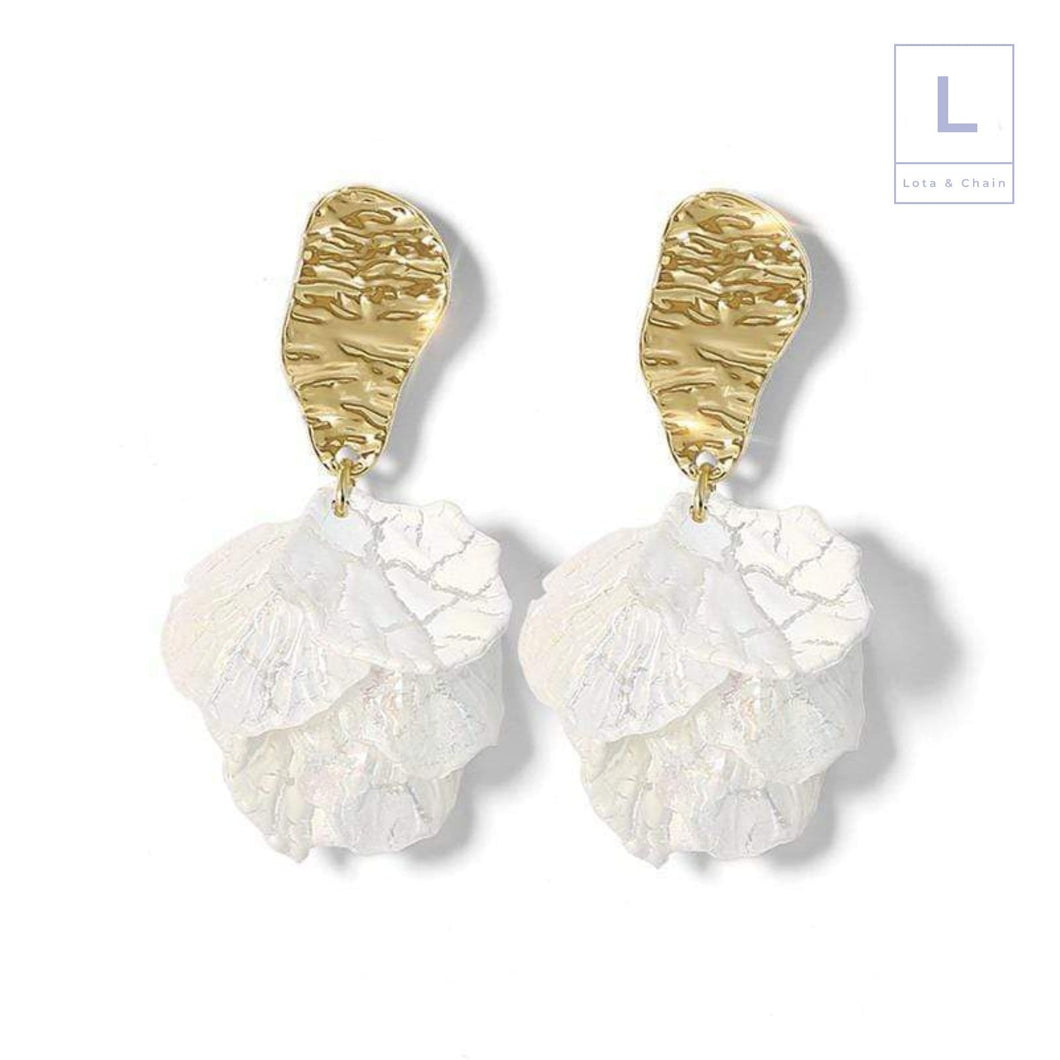 The Lilly Earrings - Lota & Chain