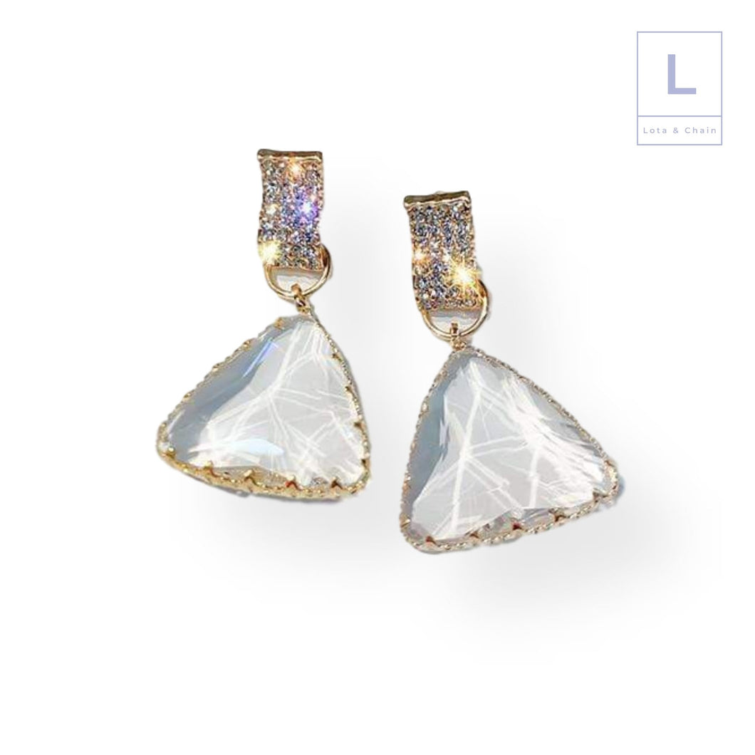 The Mirala Glass Earrings - Lota & Chain